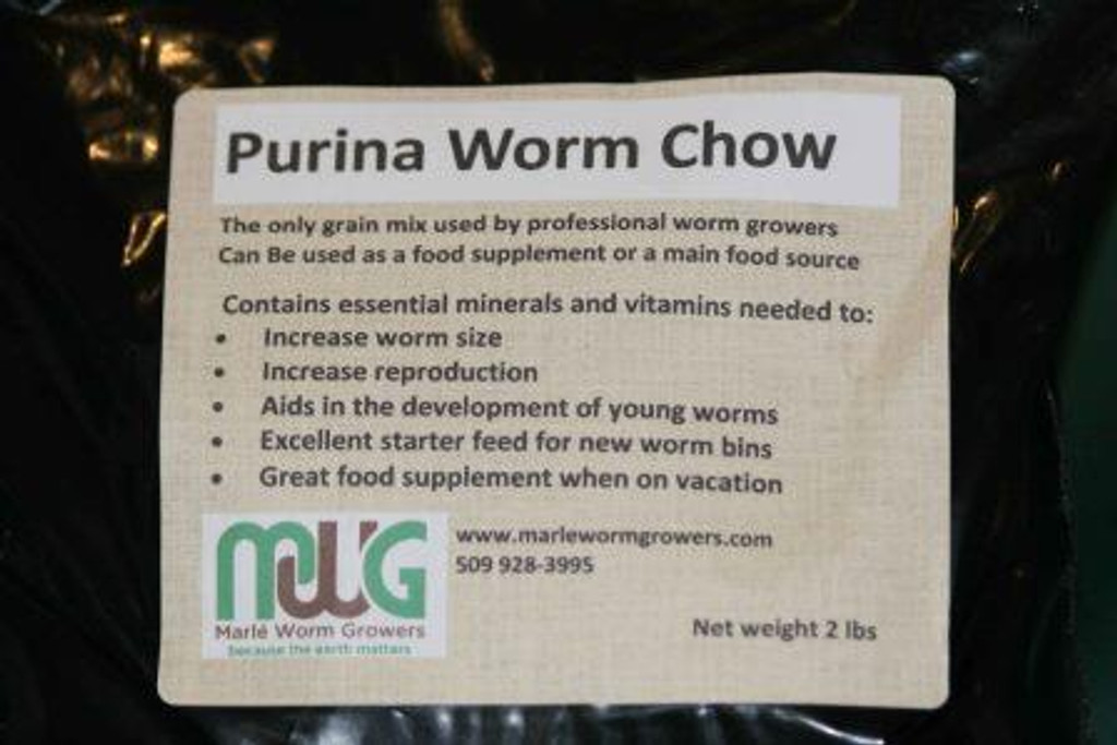 Worm Chow Label