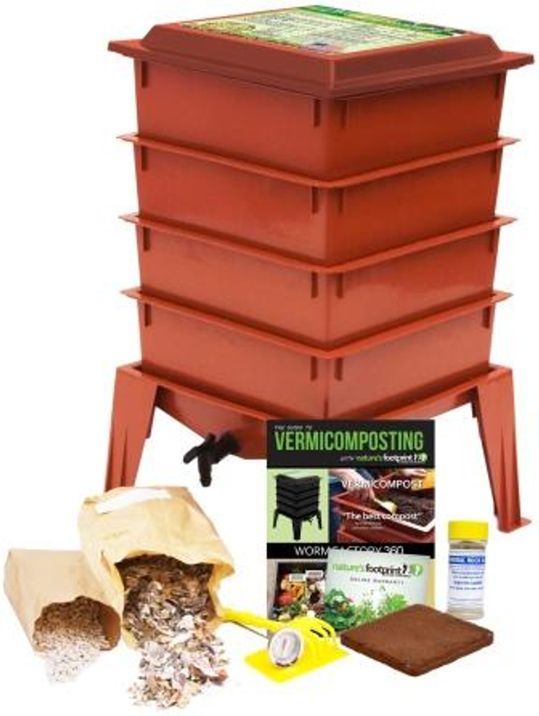 Worm Factory 360 Package, Terra Cotta