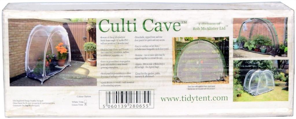 Culti Cave Mini Greenhouse Box