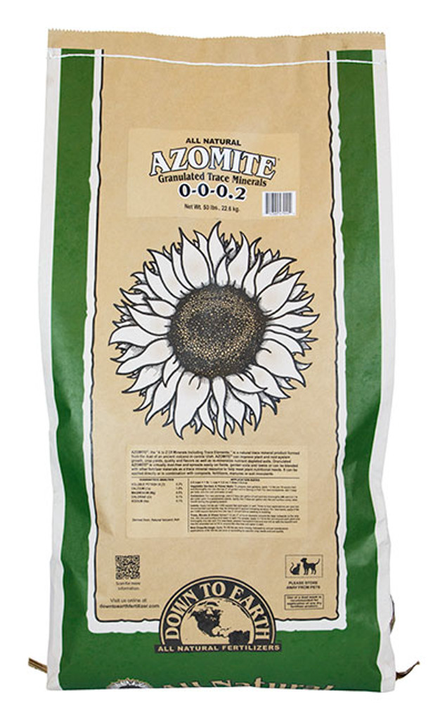 Azomite Granulated Trace Minerals, 50 lb Bag