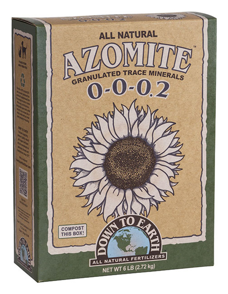 Azomite Granulated Trace Minerals, 6 lb Box