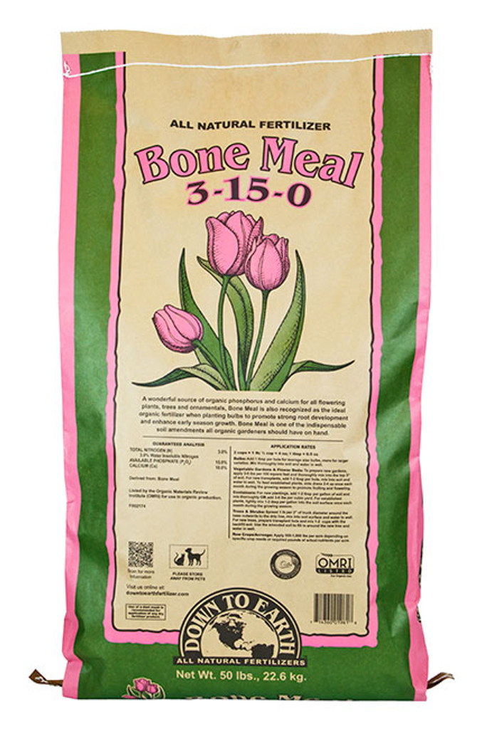 Bone Meal, 50 lb Bag