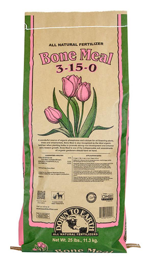 Bone Meal, 25 lb Bag