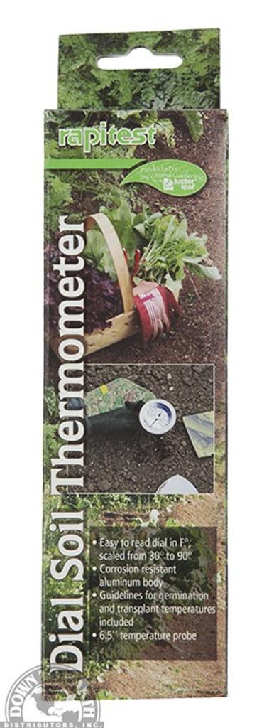 Rapitest Dial Soil Thermometer