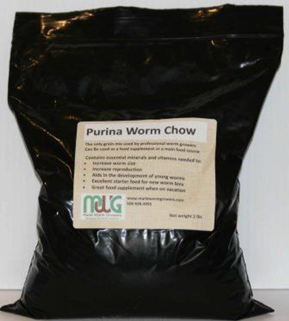 Worm Chow, 2lbs