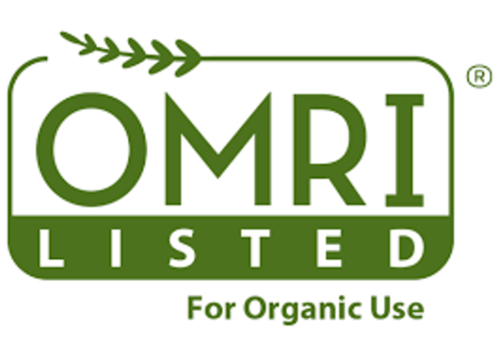 Organic Materials Review Institute Certified.