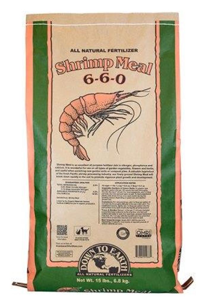 DTE Shrimp Meal 6-6-0, 15lb