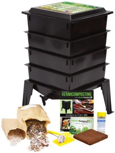 Worm Factory 360 Package, Black