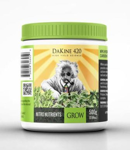 Grow, Nitro Nutrients, DaKine 420, 500g