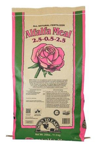 Alfalfa Meal, 25lb Bag