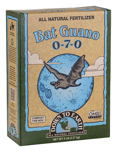 Bat Guano, 5 lb Box