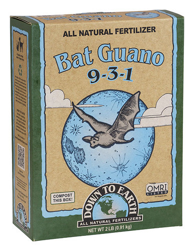 Bat Guano, 2lb Box