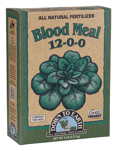 Blood Meal, 5lb Box
