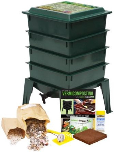 Worm Factory 360 Bundle, Green