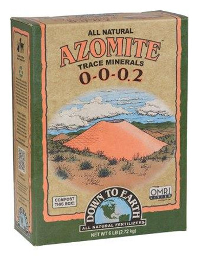 Azomite Powder, 6lb Box