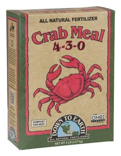 Crab Meal, 4-3-0, 5lb Box