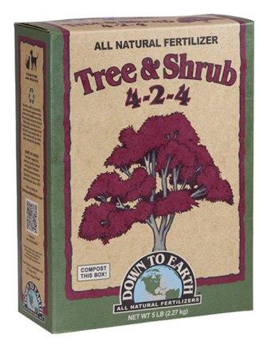 Tree & Shrub, 4-4-4, 5lbs