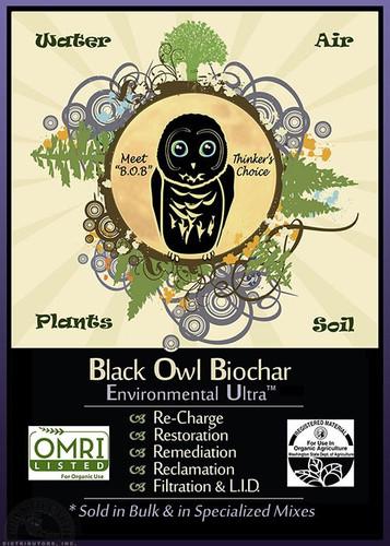 Black Owl Biochar Environmental Ultra, 1CF