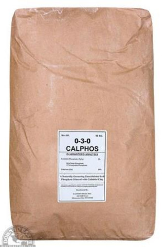 Organic Grandular Calphos 0-3-0, 50lbs