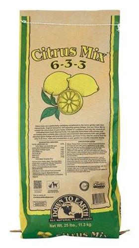 Citrus Mix 6-3-3, 25lbs
