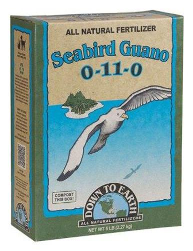 Organic Seabird Guano, 0-11-0 5lbs