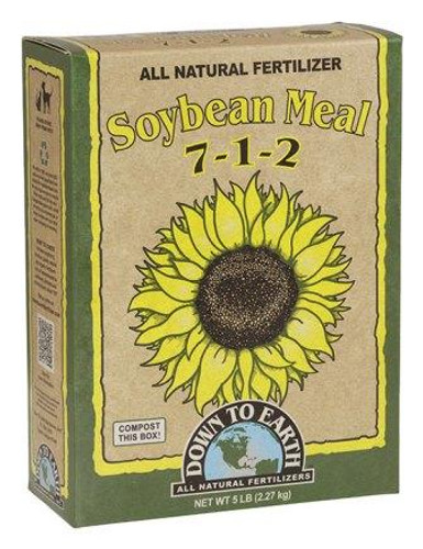 Organic Soybean Meal 7-1-2, 5lb