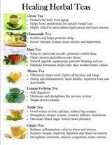 It's Tea Time - Healing Herbal Teas