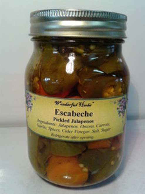Pickled Jalapeno Peppers (Escabeche)