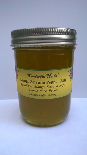 Mango Serrano Pepper Jelly