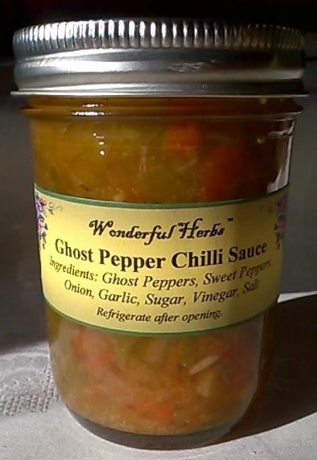 Ghost Pepper Chilli Sauce