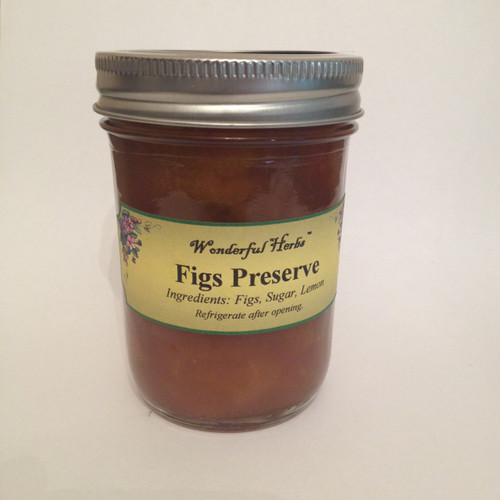 All Natural Organic Fig Preserve