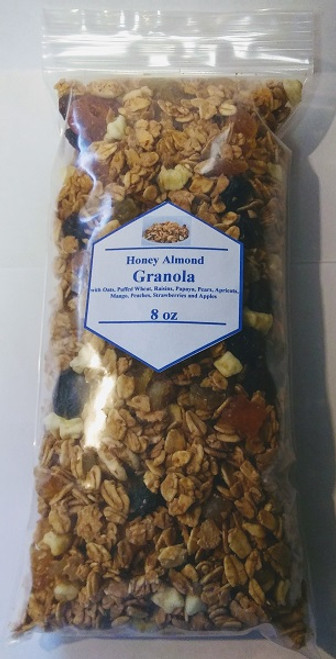 Honey Almond Granola with Dried Fruit