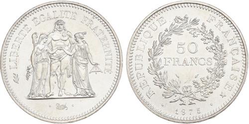 1975 France 50 FRANCS Republic