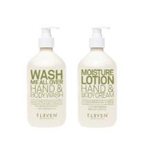 Eleven Eleven Limited Edition Body Wash and Cream 500ml Duo