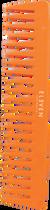 Eleven Eleven Comb - Neon Orange