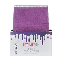 "StyleTek 5"" x 11"" Pop-Up Foil - Purple"