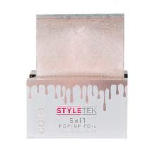 "StyleTek 5"" x 11"" Pop-Up Foil - Gold"
