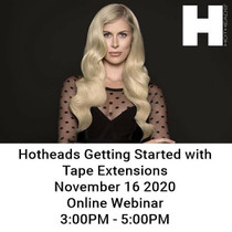 Hotheads Getting Started with Tape Extensions 11.16 Webinar