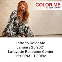 Intro to ColorMe 1.25 12PM Lafayette