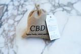 Coconut Bath Bomb 60mg CBD and Shea Butter!