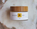 Organic Hive MINT Cream  1500 mg CBD Full spectrum CBD, Aloe Juice, Menthol, Avocado oil, Coconut oil, Caryphyllene, Linalool, Vit C and E Green clay extract, White willow bark, Rose hips, Raspberry, and Blueberry extract.