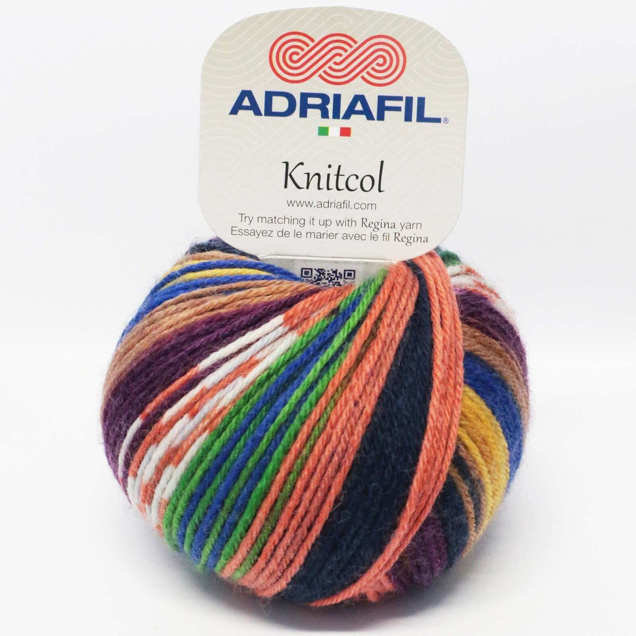 Adriafil knitting pattern using Regina Yarn