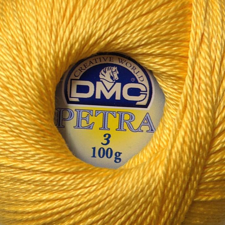 DMC Petra Crochet Thread - Colour: 5742 - Cotton - Size 3 - 100g