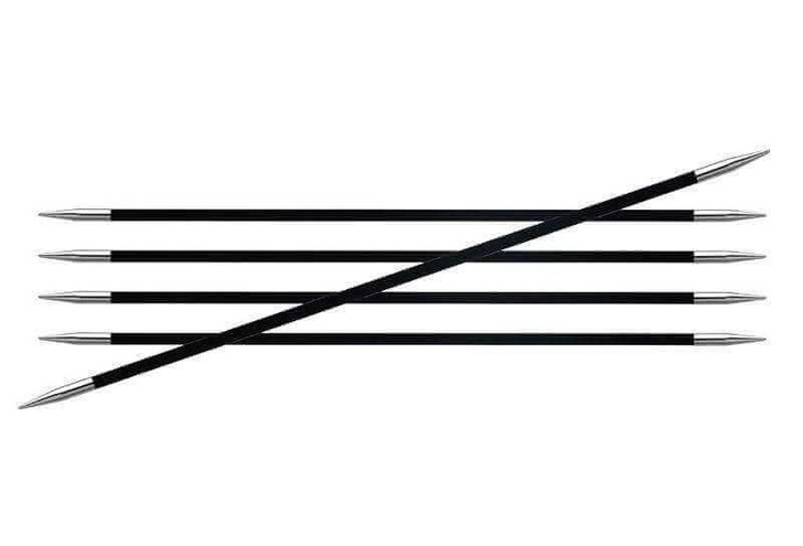 KnitPro Karbonz 15cm Double Pointed Needles / DPNs
