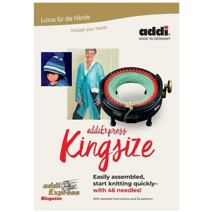 Knitting with the addi-Express Kingsize - addi Pattern Book