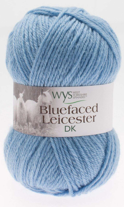WYS Blue Faced Leicester DK Yarn - 50g - Bluebell (101)