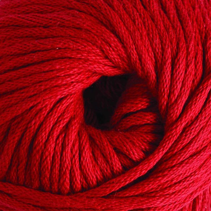 DMC Natura XL 5 Just Cotton Yarn - 100g - Ecarlate