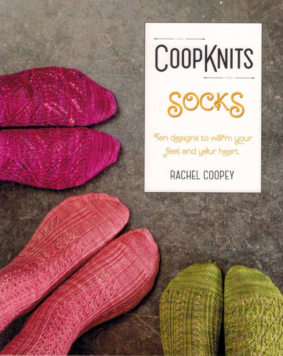 CoopKnits Socks Knitting Pattern Book Vol 1 by Rachel Coopey