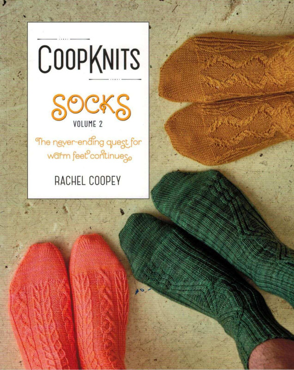 CoopKnits Socks Vol 2 Knitting Pattern Book by Rachel Coopey