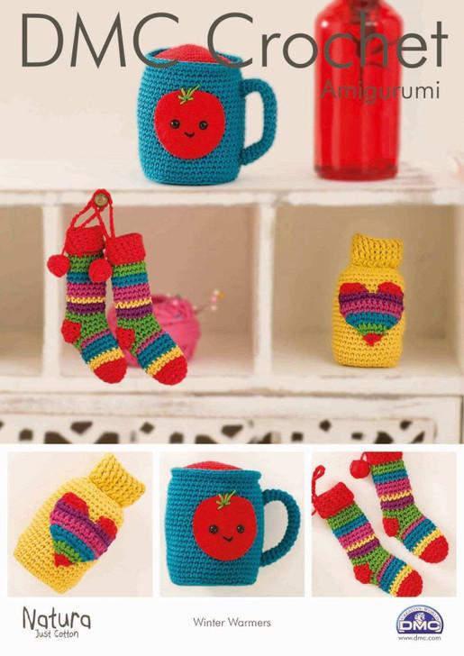 DMC: Winter Warmers Amigurumi Crochet Pattern